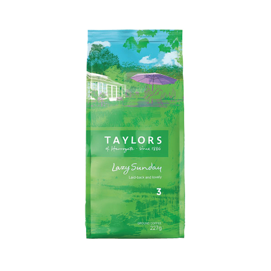 Coffee Taylors Lazy Sunday Coffee 227g Ref A076599
