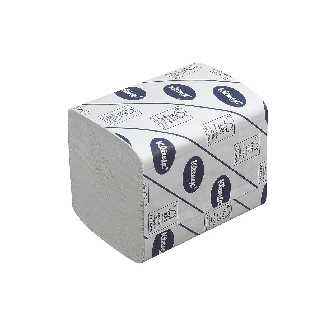 Kleenex 27 Toilet Tissue Bulk Pack Folded 260 Sheets per sleeve 2-ply White Ref 4477 [Pack 27]
