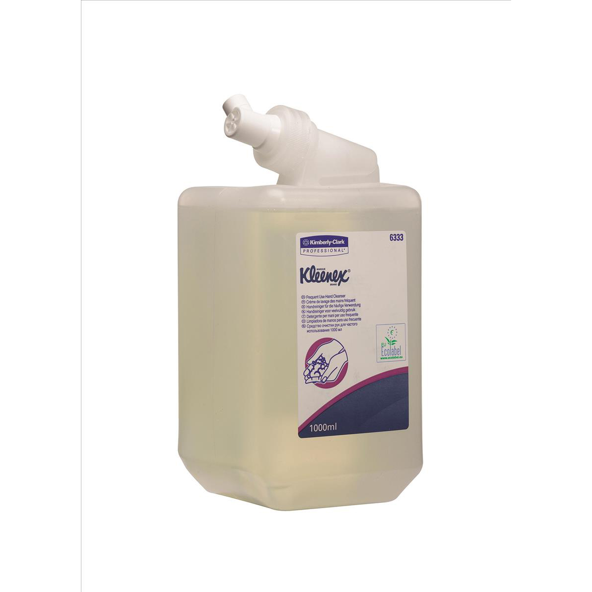 Hand Soaps / Sanitisers & Dispensers Kleenex Frequent Use Handwash Cassette 1 Litre Ref 6333 Pack 6