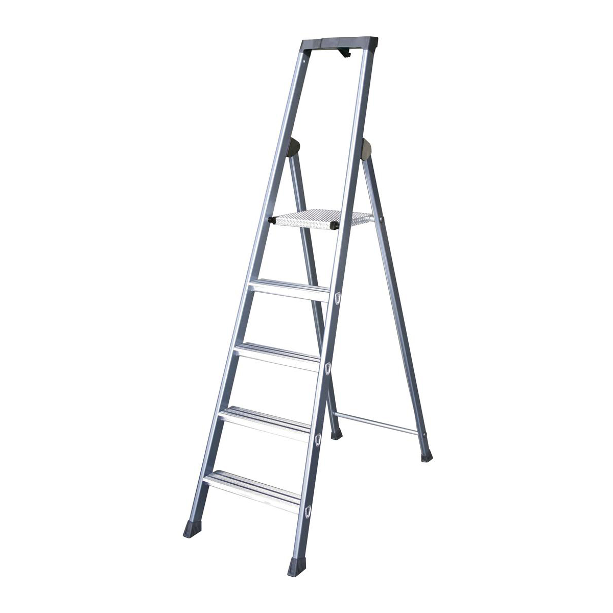 Steps Aluminium Ladder 5 Tread Extra Deep