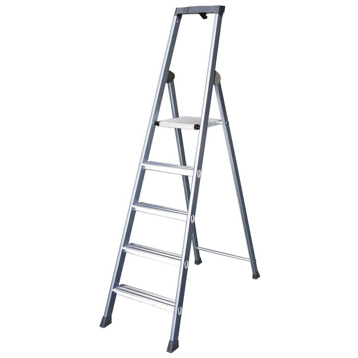 Aluminium Ladder 7 Tread Extra Deep