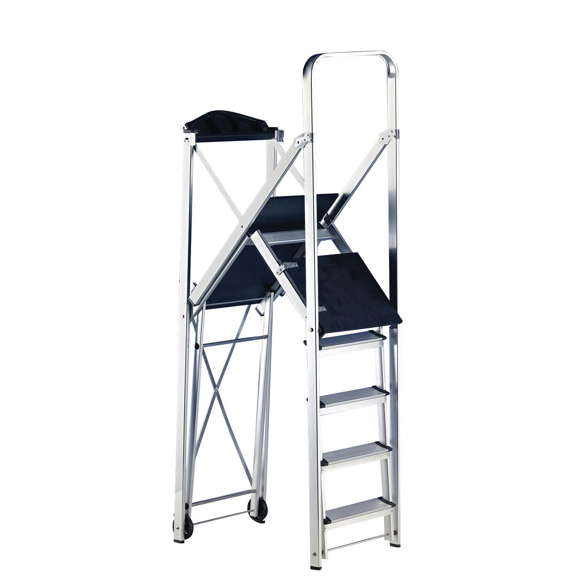 Image for Folding Metal Scaffold Work Platform (Maximum capacity: 150kg) 382420