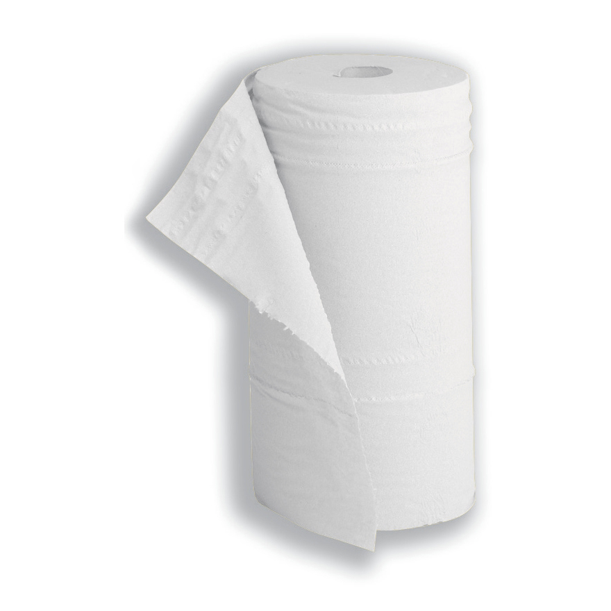 5 Star Facilities Hygiene Roll 10 Inch Width +50 per cent recycled 2-ply 130 Sheets W250xL457mm 40m White