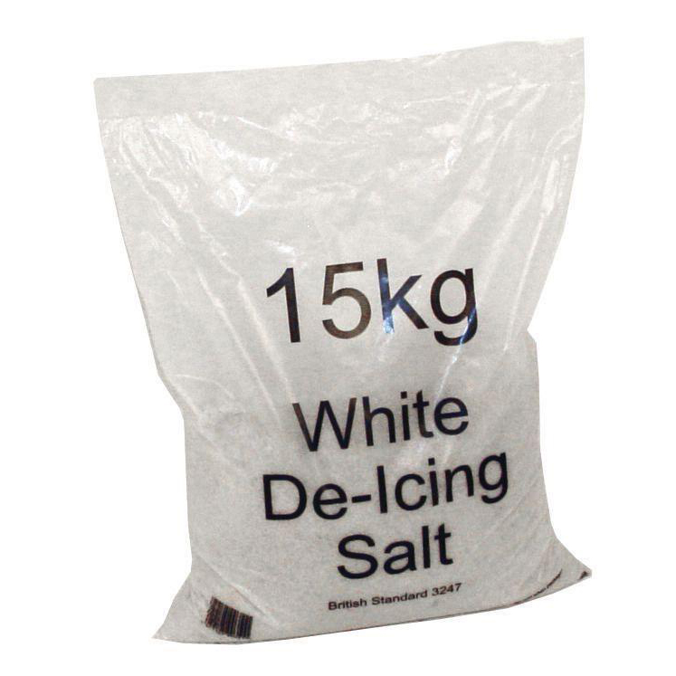 De-Icing Supplies Salt Bag De-icing 15kg [Packed 72]