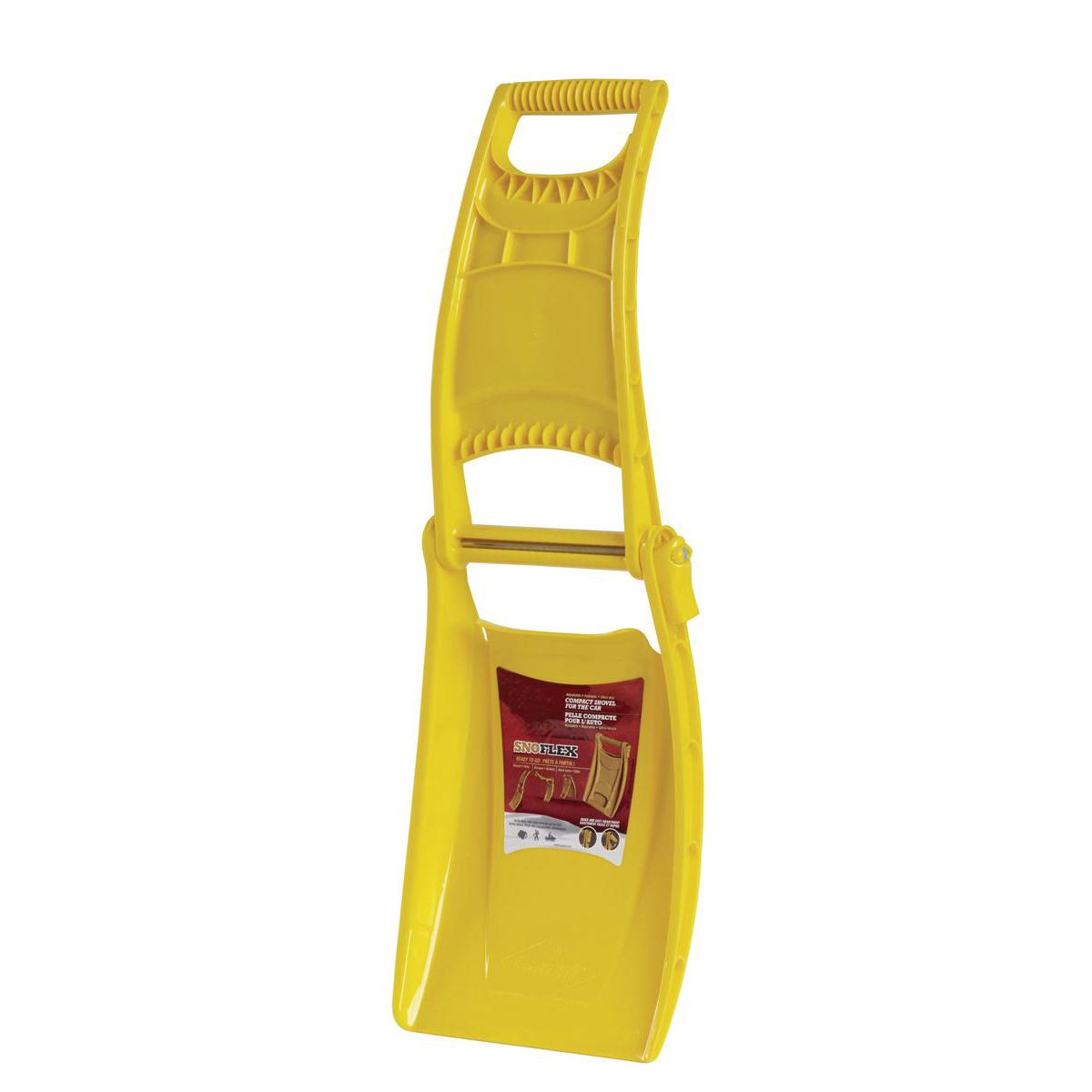 Shovels Snow Shovel Foldable Space-saving Yellow