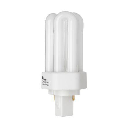 Tungsram 13W 2pin Hex Plug in GX24d-1 Fluo Bulb 900lm 91V EEC-B ExWarmWhite Ref35940*Upto 10 DayLeadtime*
