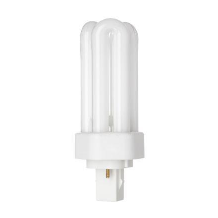 Tungsram 18W 2pinHexPlugin GX24d-2 Fluo Bulb 1200lm 100V EEC-B ExWarmWhite Ref35945Upto10DayLeadtime
