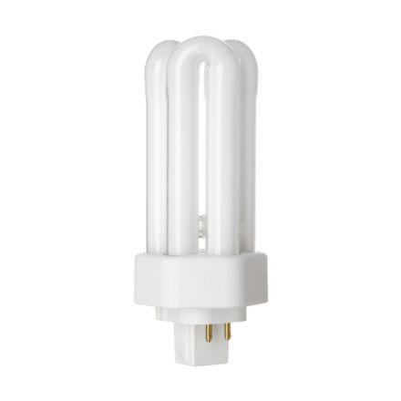 Compact fluorescent CFL lamps Tungsram 18W 4pinHexPlugin GX24q-2 Fluo Bulb Dim 1200lm 100V EEC-A ExWrmWhite Ref34392*Upto10DayLeadtime*