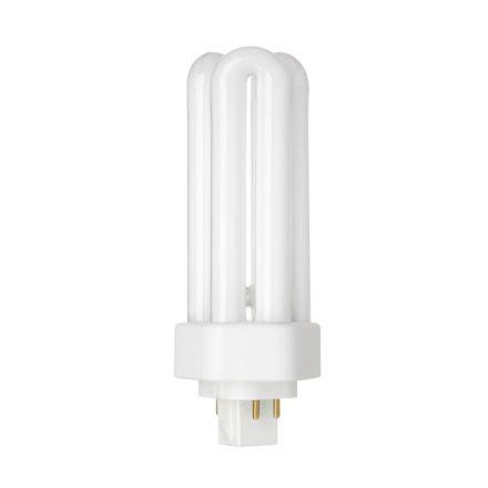 Tungsram 26W 4pin Hex Plug-in GX24q-3 Fluo Bulb Dim 1800lm 105V EECA ExWrmWht Ref34393Upto10DayLeadtime