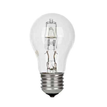 GE 53W Decor HALO GLS E27 Halogen Bulb Dimmable 850lm EEC-D Ref63961 Up to 10 Day Leadtime