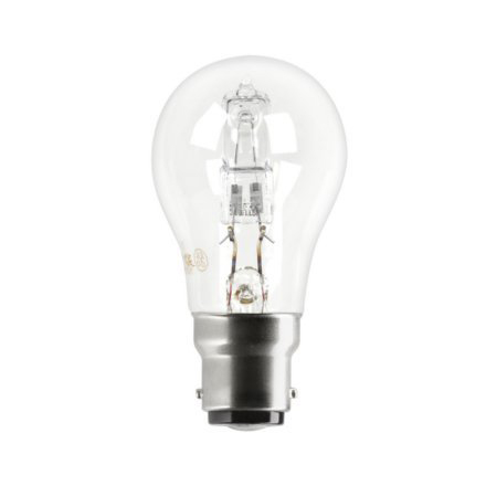 Tungsram 30W Decor HALO GLS B22 Halogen Bulb Dimmable 405lm EEC-D Ref98361 *Up to 10 Day Leadtime*