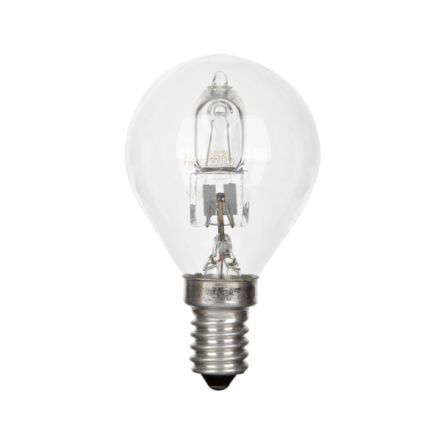 GE 20W Decor HALO Spherical E14 Halogen Bulb Dimmable 235lm EEC-D Ref98385 Up to 10 Day Leadtime