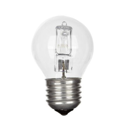 GE 30W Decor HALO Spherical E27 Halogen Bulb Dimmable 415lm EEC-D Ref98377 Up to 10 Day Leadtime