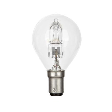 Tungsram 30W Decor HALO Spherical B15 Halogen Bulb Dimmable 415lm EEC-D Ref98380 Up to 10 Day Leadtime