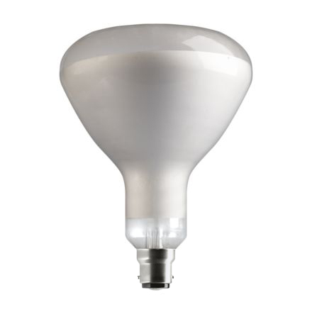 Tungsram 250W Infrared B22 Reflector Incandescent Bulb Dim 240V Clear Ref28725 *Up to 10 Day Leadtime*