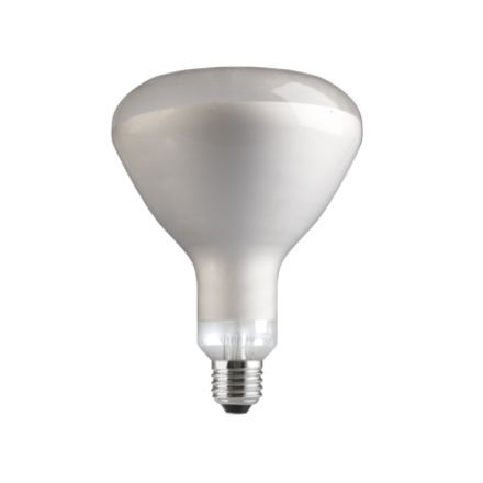 GE 250W Infrared E27 Reflector Incandescent Bulb Dimmable 240V Satin Ref91390 Up to 10 Day Leadtime