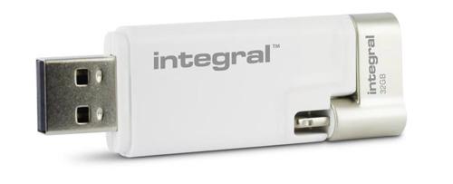Integral iShuttle USB Drive 3.0 Capacity 32GB Ref INFD32GBISHUTTLE