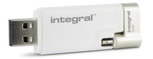 Integral iShuttle USB Drive 3.0 Capacity 64GB Ref INFD64GBISHUTTLE