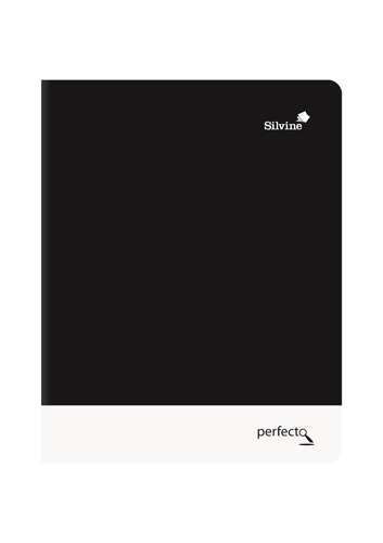 Silvine Notebook Soft Velvet Cover Perforated 75gsm 160pp A5 Assorted Ref PERA5RBBST[Pack 6]
