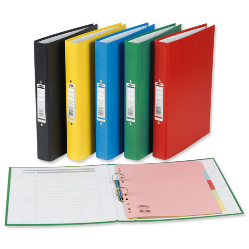 Concord Classic Ring Binder 2 O-Ring Capacity 25mm A4 Black Ref C82102 [Pack 10]
