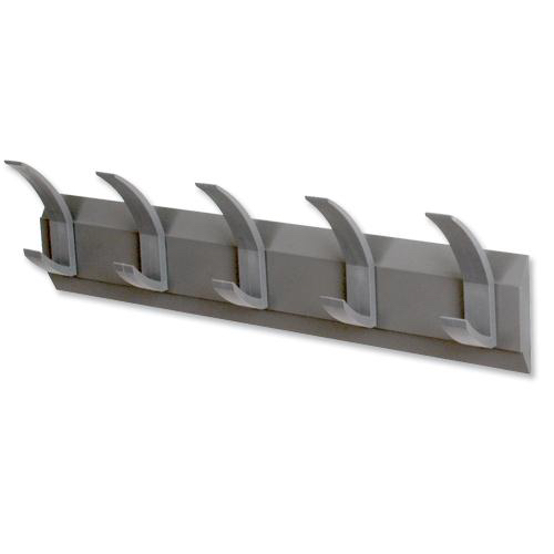 Acorn Hat and Coat Hooks Concealed Fixings with Screws and Wall Plugs Graphite [Pack 5]
