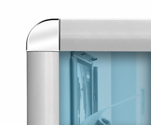 Nobo Clip-down Frame Moulded Aluminium Front-opening 1189x841mm A0 Ref 1902208