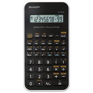 Sharp Calculator Handheld Junior Scientific Battery Power 10 Digit Ref EL-501x