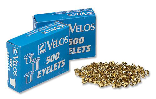 Rexel Copper Eyelets 5.5mm Shank Ref 20320052 [Pack 500]