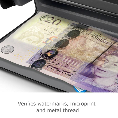 Safescan Counterfeit Detector 70 UV Checker W206xD102xH88mm Black Ref 131-0400