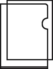 Esselte Standard Folder Plastic Cut Flush Copy-safe A4 Clear Ref 54810 [Pack 100]
