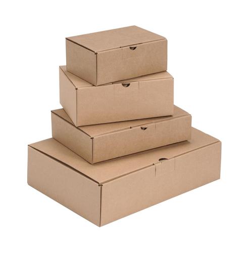 Easi Mailer Kraft Mailing Box W305xD215xH80mm Brown [Pack 20]