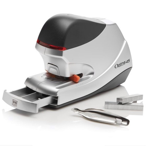 Rexel Optima 45 Electric Stapler Flat Clinch 26/6 Capacity 45 Sheets Ref 2104454