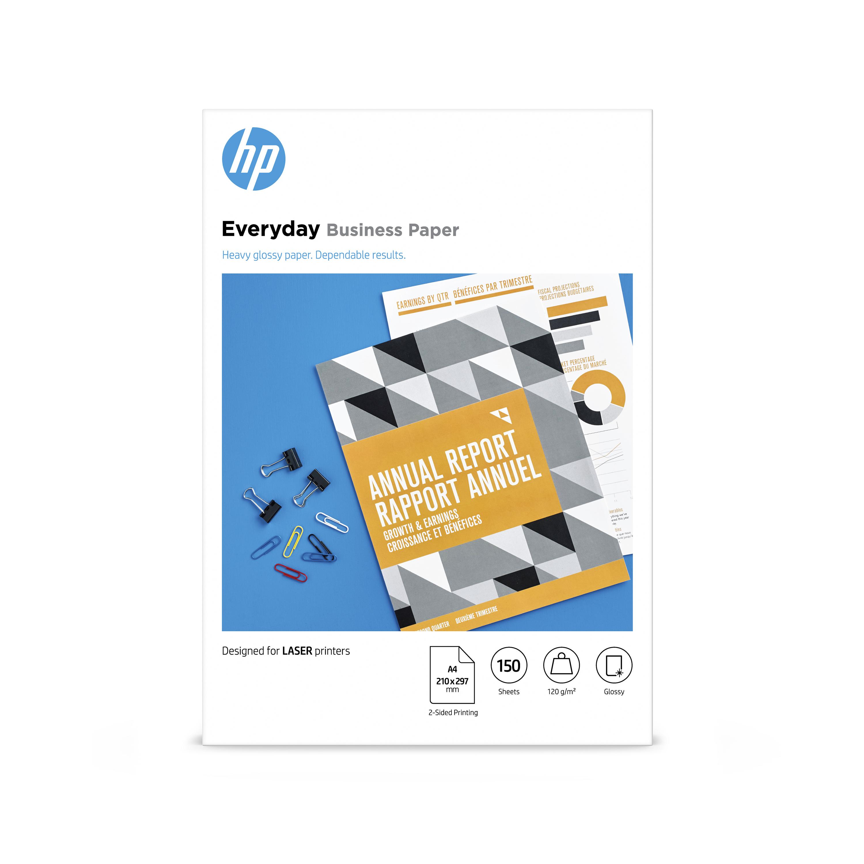 Hewlett Packard Laser Photo Paper Glossy A4 120gsm Ref 7MV82A [150 sheets]