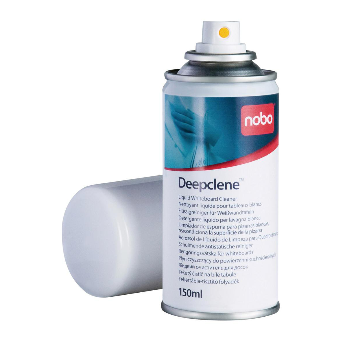 Nobo Deepclene Whiteboard Cleaning Fluid Spray 150ml Ref 34533943