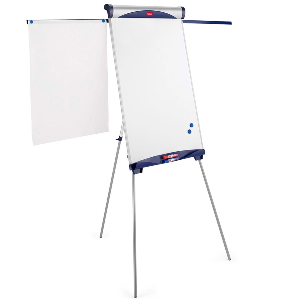 Nobo Classic Nano Clean Tripod Easel Magnetic with Extendable Display Arms Board W100xH685xmm Ref 1901918