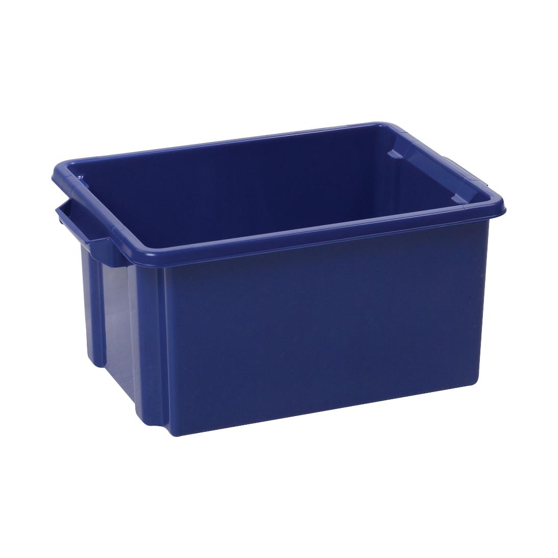 Strata Storemaster Midi Crate External W360xD270xH190mm 14.5 Litres Blue Ref HW44 BU