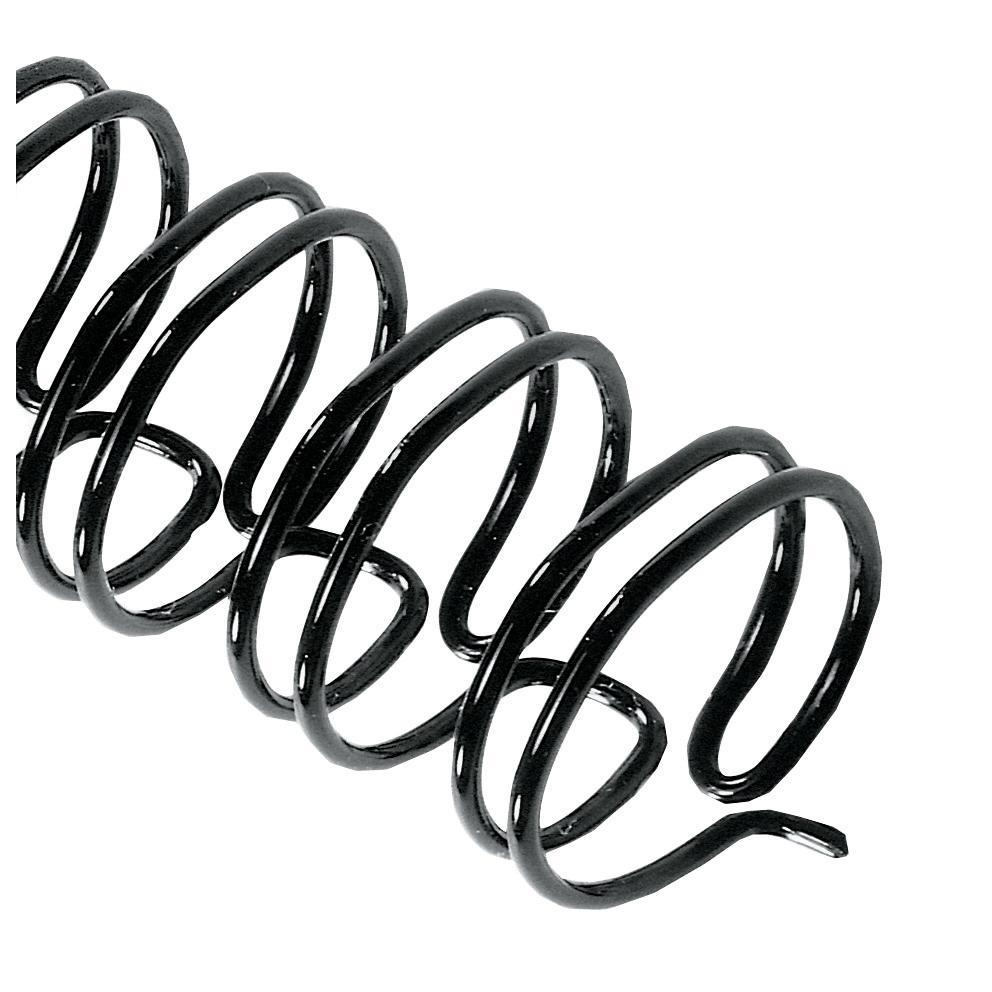 GBC Binding Wire Elements 21 Loop 55 Sheets 6mm Black Ref IB165023 [Pack 100]