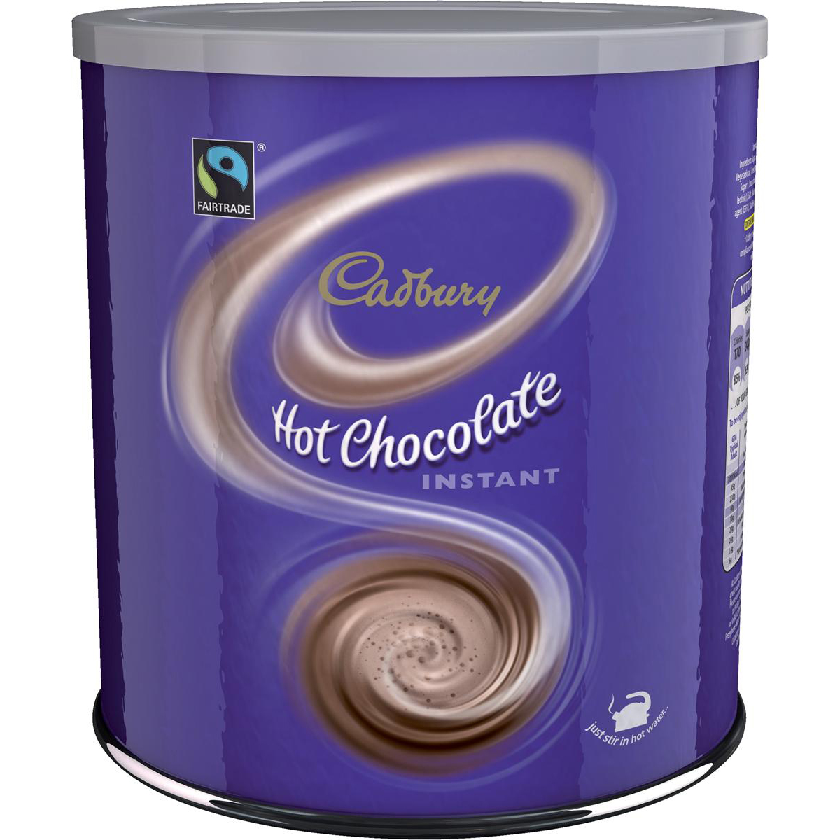 Chocolate or malt or other hot beverages Cadbury Chocolate Break Fairtrade Hot Chocolate Powder 70 Servings 2Kg Ref 403136