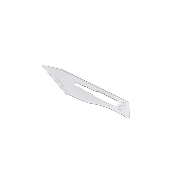 Spare Blades No.10A for Metal Scalpel Pack 100
