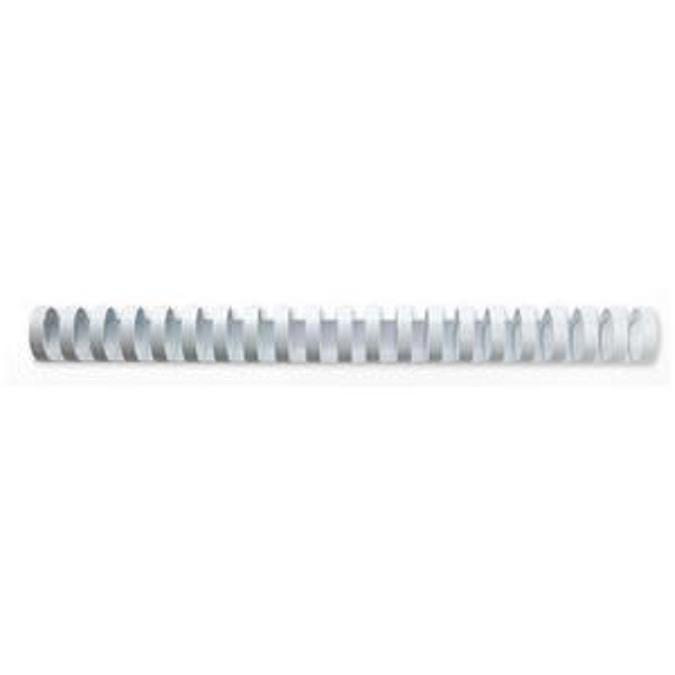 GBC Binding Combs Plastic 21 Ring 145 Sheets A4 16mm White Ref 4028610 Pack 100