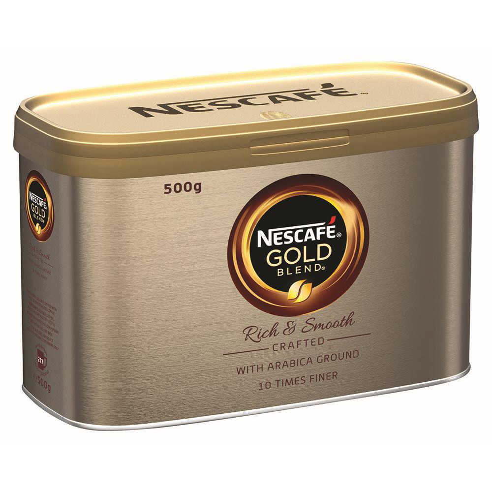 Coffee Nescafe Gold Blend Instant Coffee Tin 500g Ref 12339246