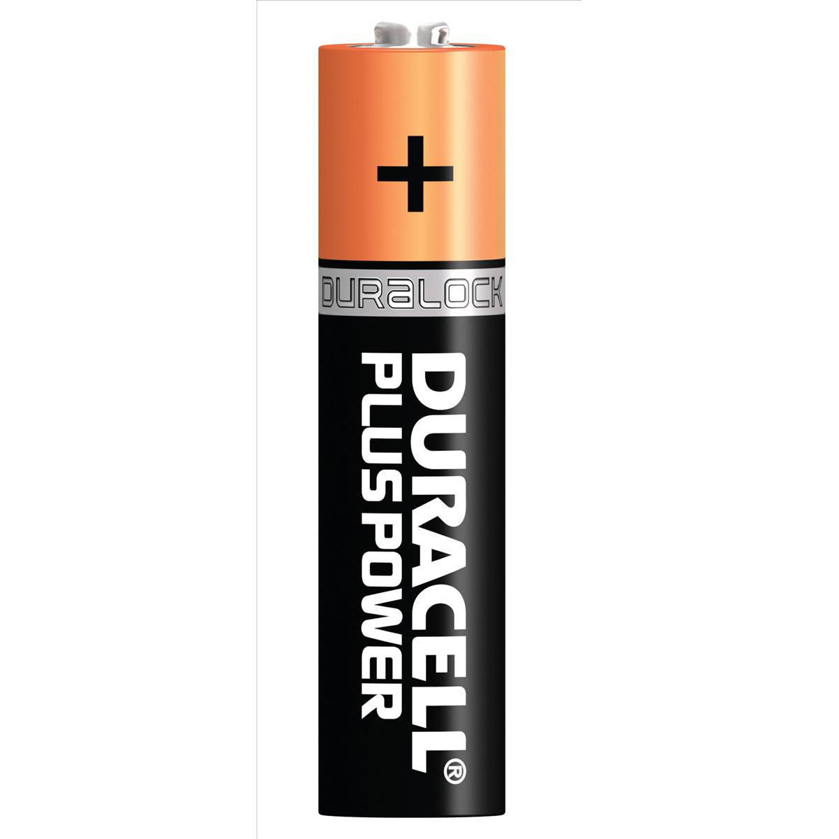 AAA Duracell Plus Power Battery Alkaline AAA Size 1.5V Ref 81275396 Pack 4