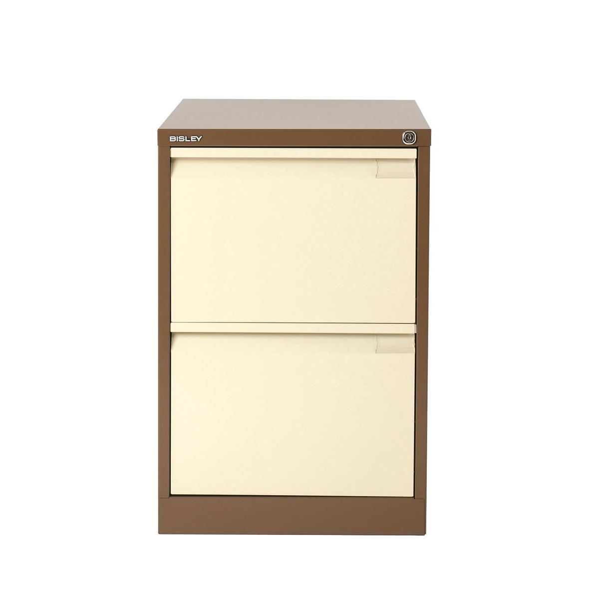 Filing cabinets or accesories Bisley Filing Cabinet 2 Drawer 470x622x711mm Ref 1623-av5av6