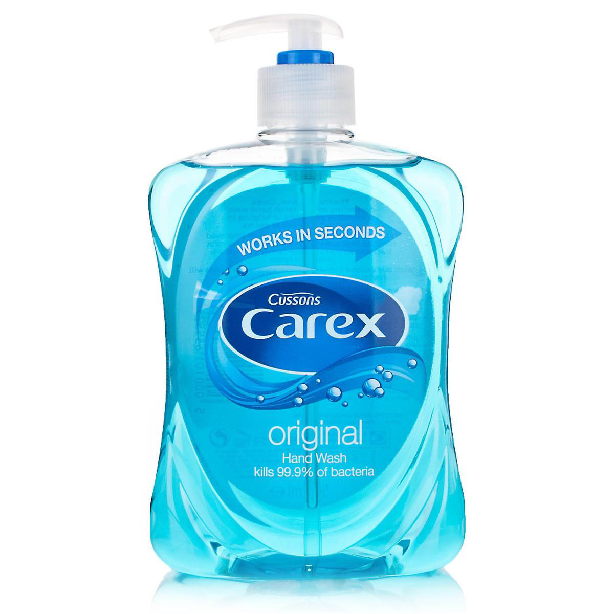 Soaps Carex Liquid Soap Hand Wash 500ml Ref 347899 Pack 2