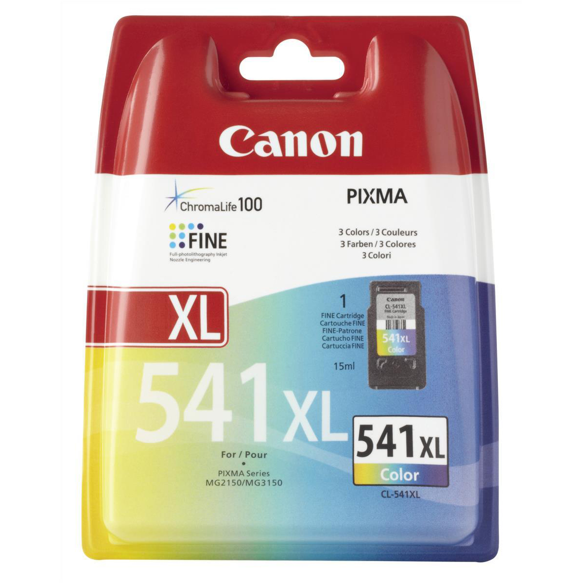 Canon CL-541XL Inkjet Cartridge High Yield 400pp 15ml Tri-Colour Ref 5226B005AA