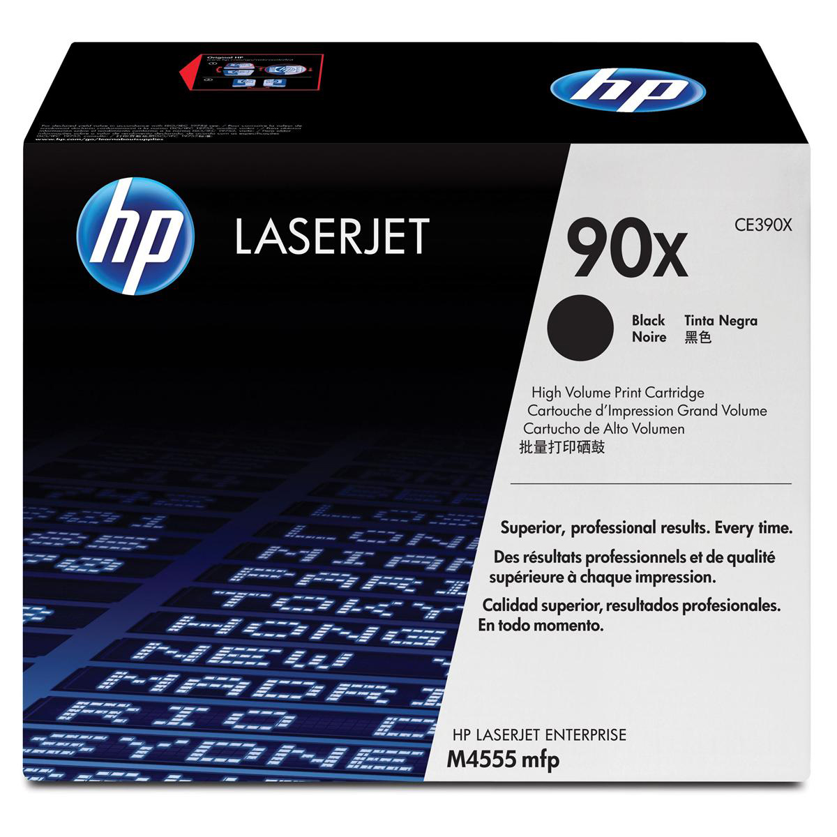 Hewlett Packard [HP] No. 90X Laser Toner Cartridge Page Life 24000pp Black Ref CE390X