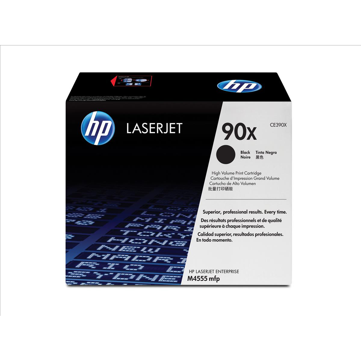 HP 90X Laser Toner Cartridge HighYield Page Life 24000pp Black Ref CE390XD [Pack 2]