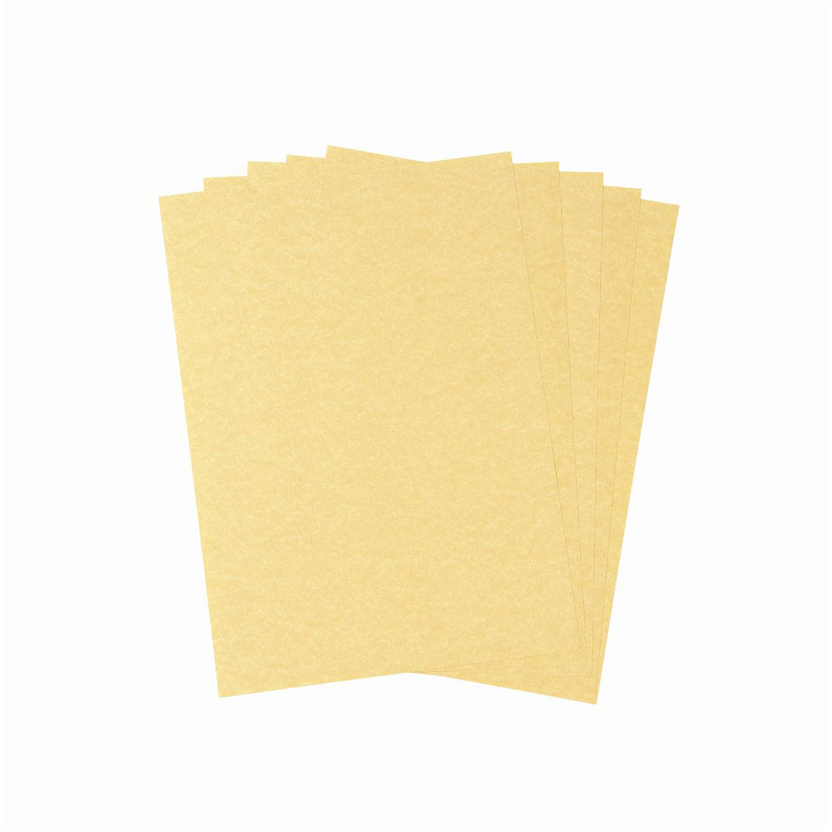 Parchment Letterhead and Presentation Paper 95gsm A4 Gold 100 Sheets