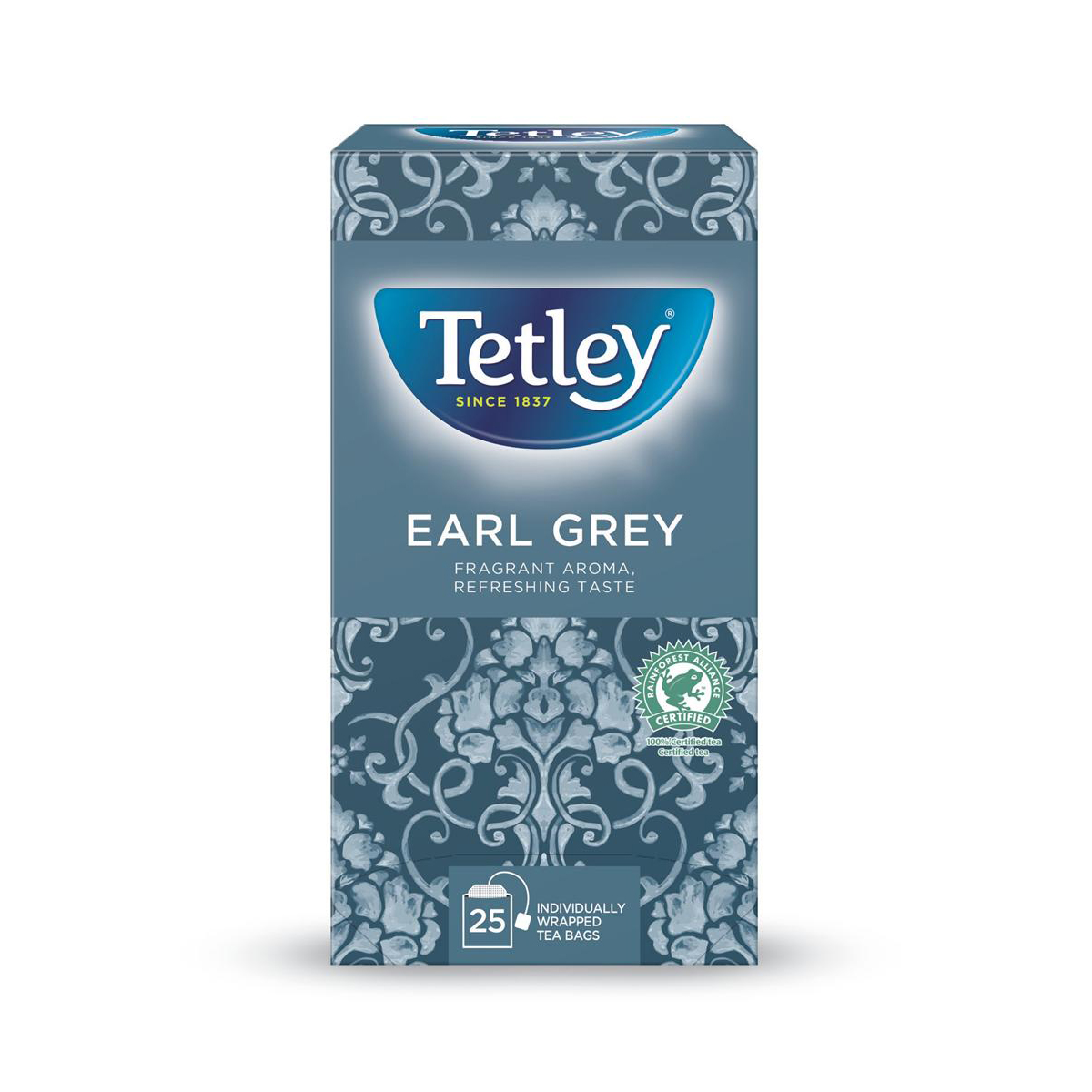 Tetley Tea Bags Earl Grey Drawstring in Envelope Ref 1277 Pack 25