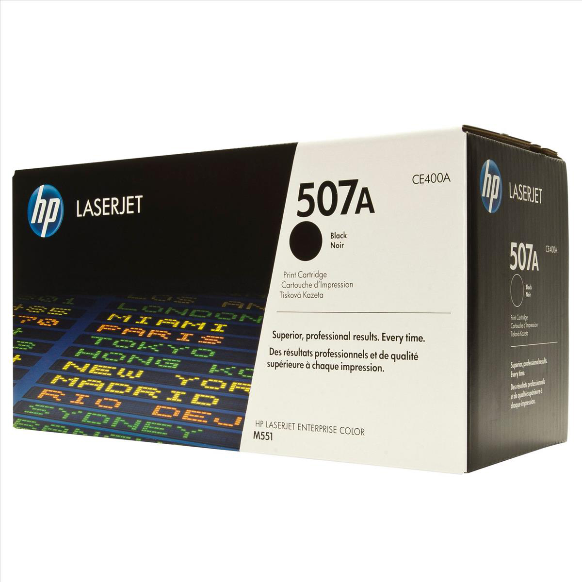 HP 507A Laser Toner Cartridge Page Life 5500pp Black Ref CE400A